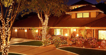 Christmas Light Display and Decoration