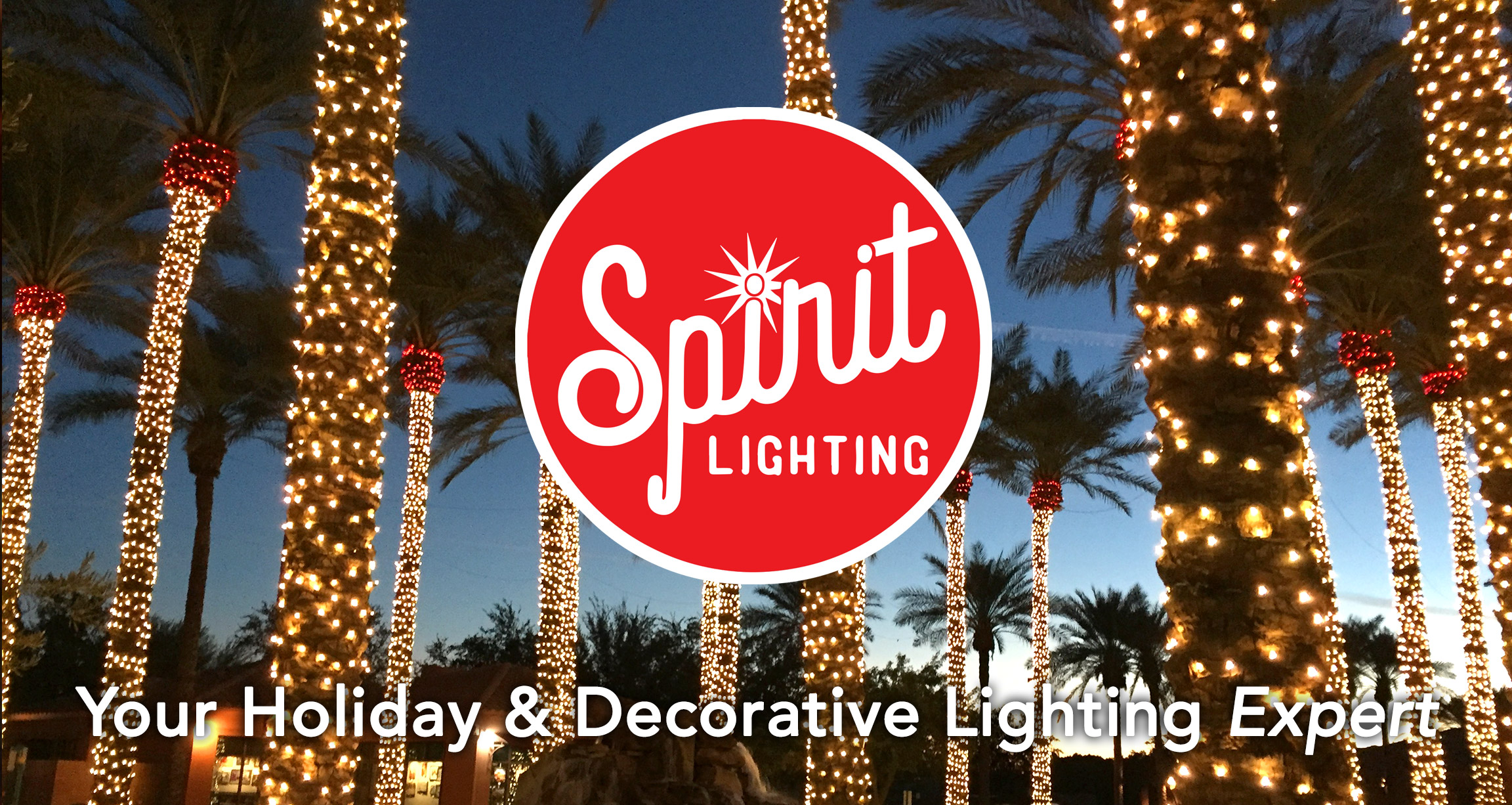 spirit lighting is a full service holiday decorating company in phoenix arizona spirit lighting - Christmas Light Decorating Service
